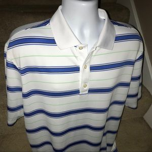 FootJoy FJ wicking men's casual golf polo shirt L